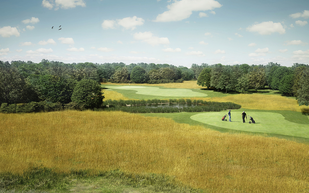 bruto golf course design concept brutogolf