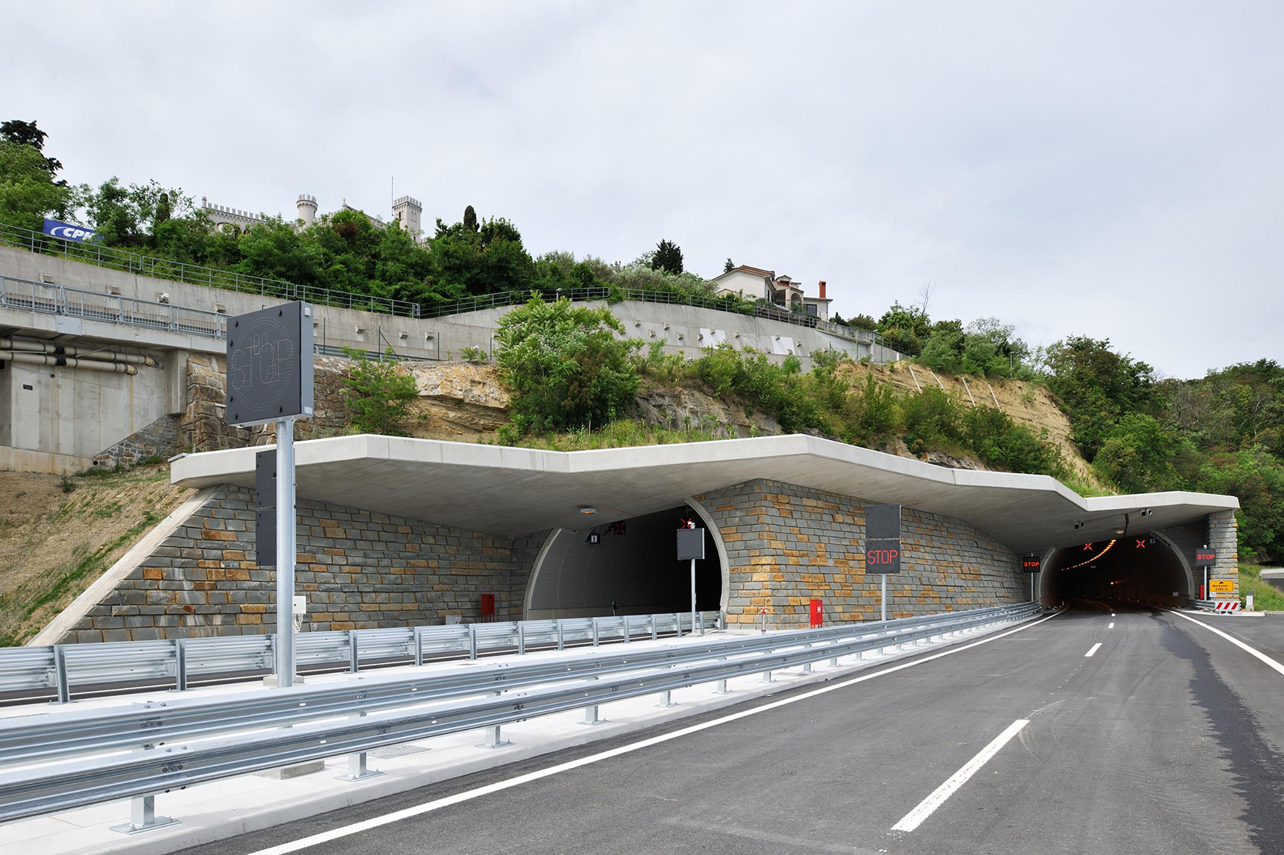 bruto markovec koper izola portal tunnel predor