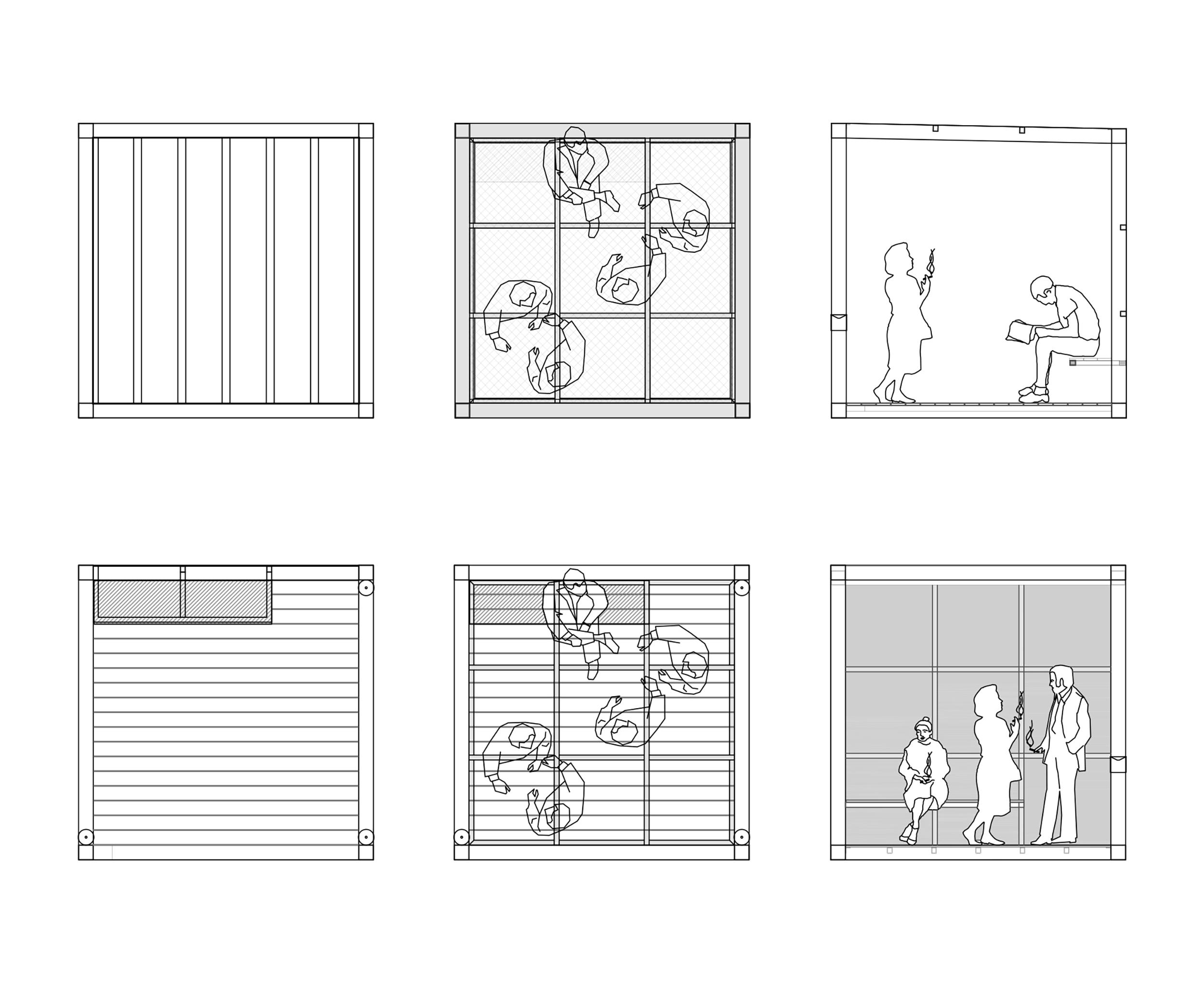mobitel bruto ljubljana modular pavilion modularni pavilijon