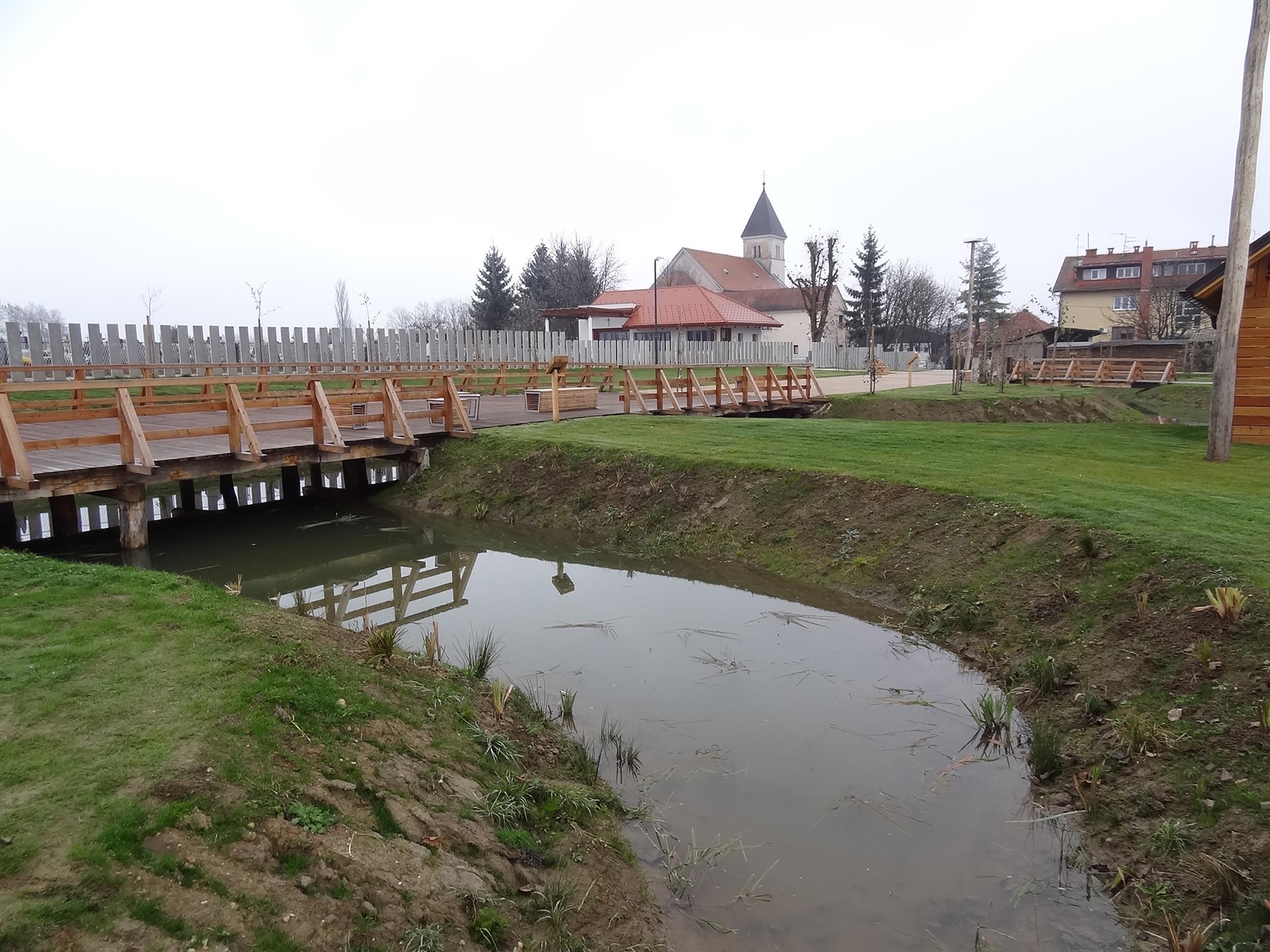 bruto velika polana park voda prekmurje storks štorklje