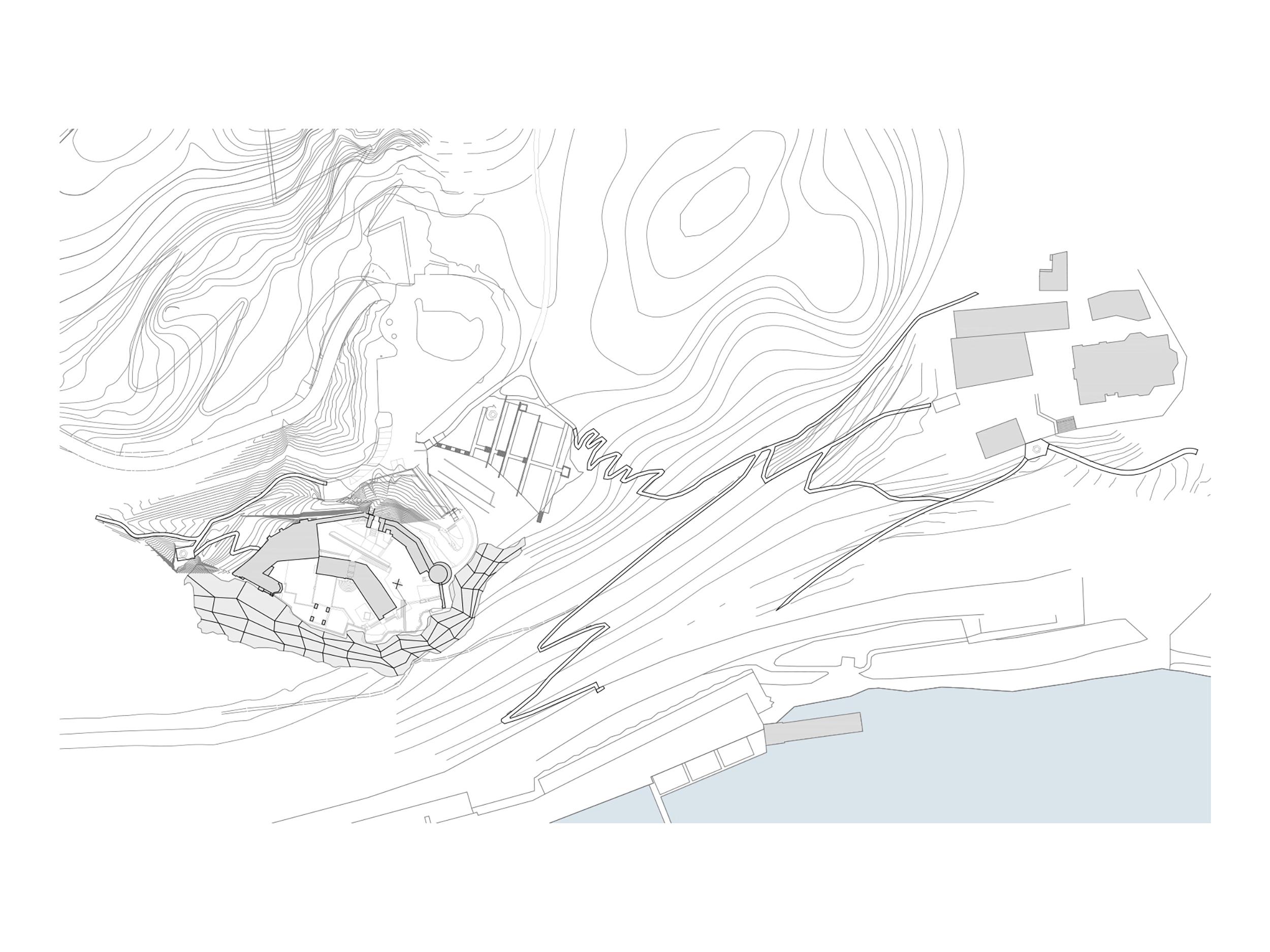 bruto bled pot na grad jezero castle lake path stairs stopnice tloris plan
