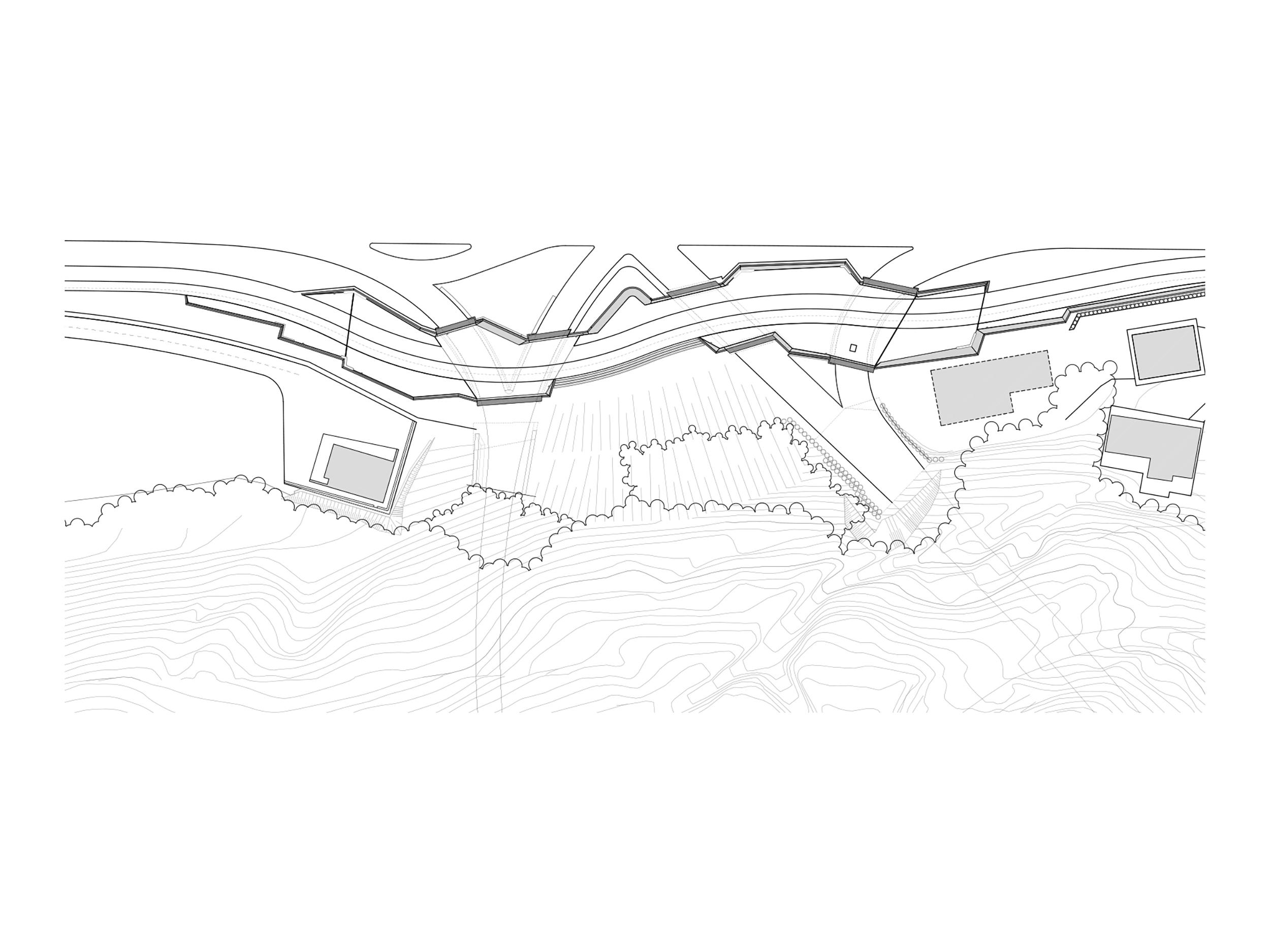 bruto ac park šentvid ljubljana most tunel underpass podhod tloris plan