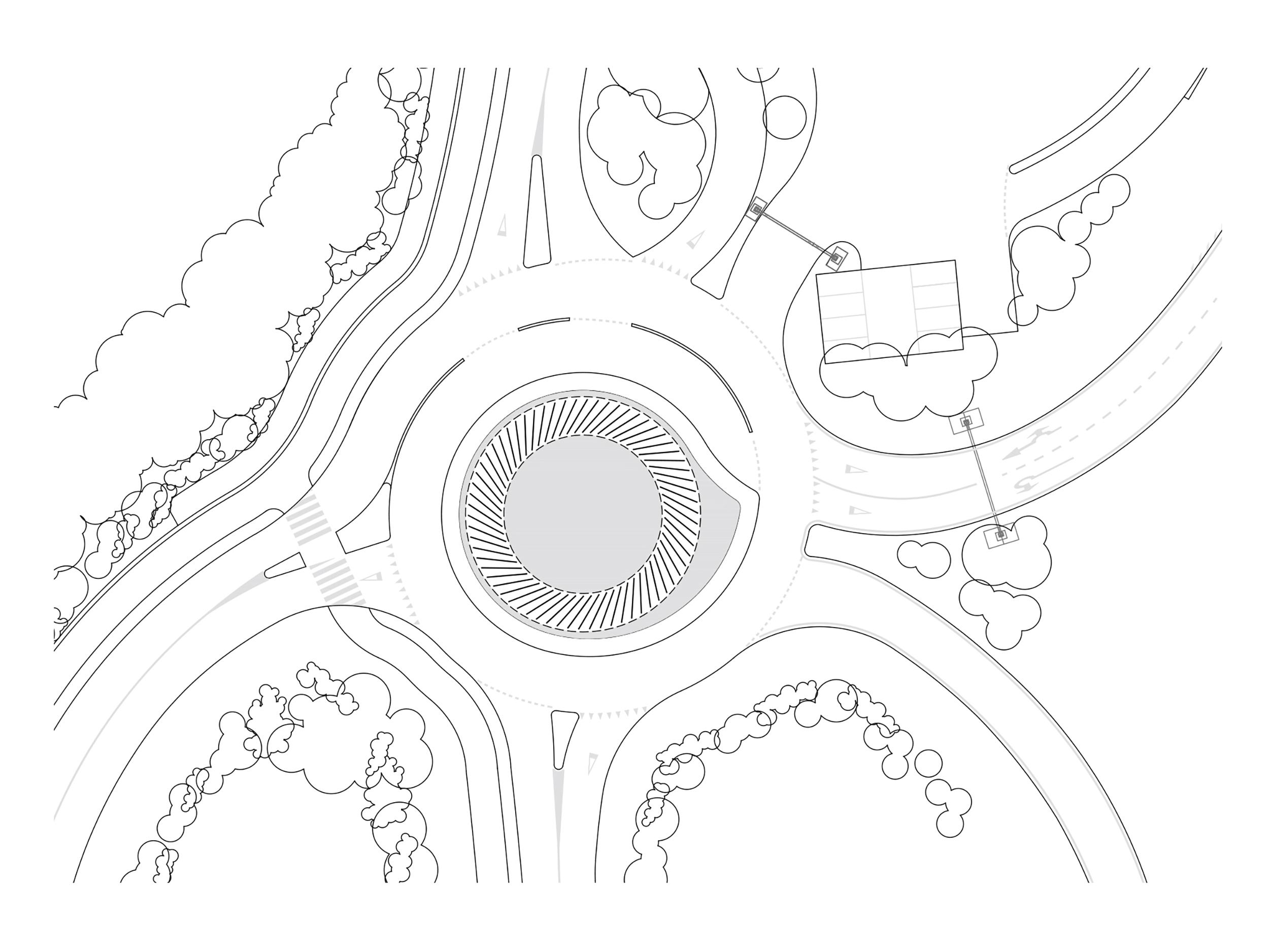 obvoznica ljubljana roundabout interactivno krožišče