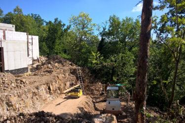 kobdillj kras vrt garden hiša house render terase