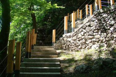 bruto bled blejski grad bled castle grajski hrib hill stairs stopnice