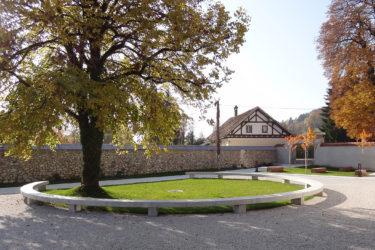 bruto begunje psihiatrična bolnišnica psychiatry hospital katzenstain graščina mansion castle courtyard dvorišče