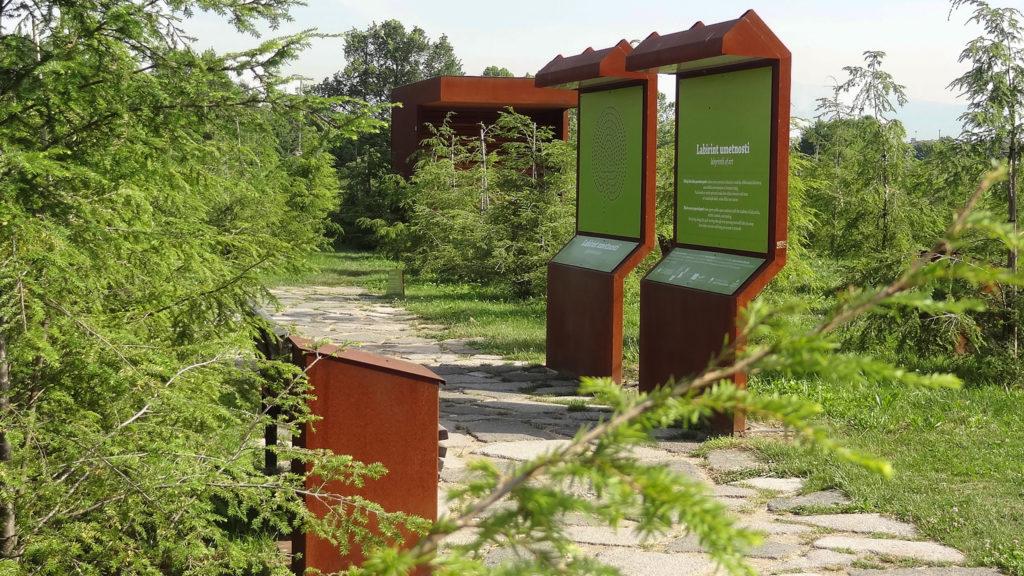 bruto ljubljana park labyrinth labirint