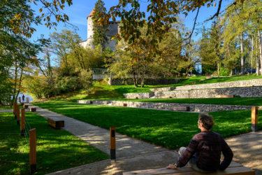bruto bled grad castle blejsko jezero bled lake castle park grajski park