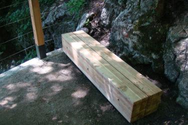 bruto product design urbana oprema urban furniture les wood bench klop