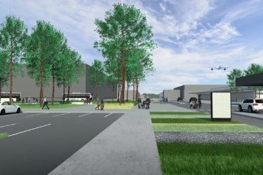 bruto brnik fraport park urban park entrance vstopni airport letališče